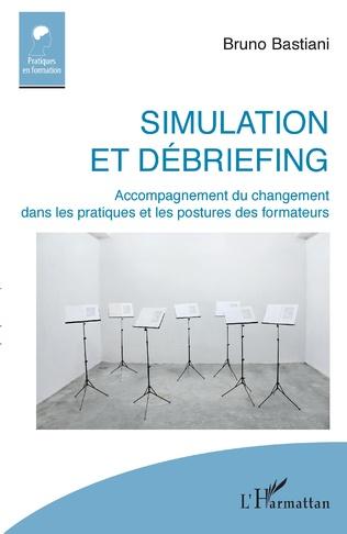 Couverture Simulation et débriefing