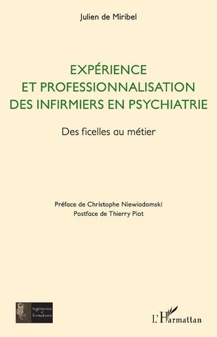 Couverture Expérience et professionnalisation des infirmiers en psychiatrie