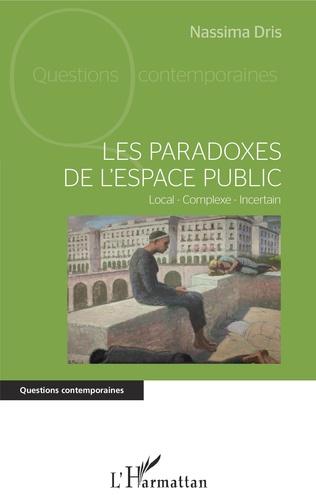 Couverture Les paradoxes de l'espace public