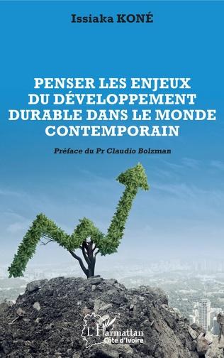 Couverture Penser les enjeux du développement durable dans le monde contemporain