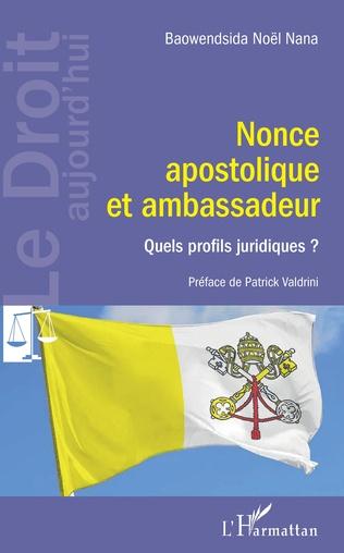 Couverture Nonce apostolique et ambassadeur