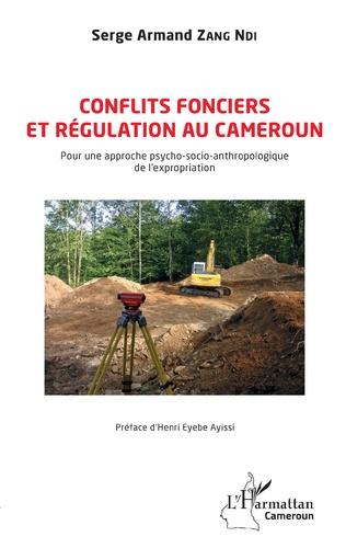 Couverture Conflits fonciers et régulation au Cameroun