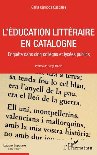 Couverture L'éducation littéraire en Catalogne