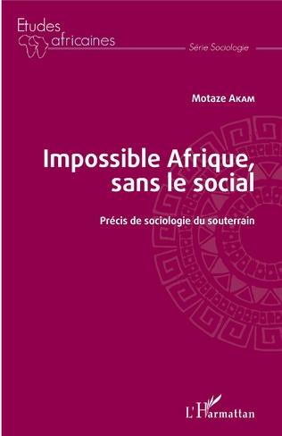 Couverture Impossible Afrique, sans le social