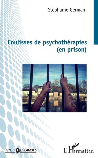 Couverture Coulisses de psychothérapies (en prison)