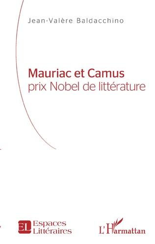 Couverture Mauriac et Camus