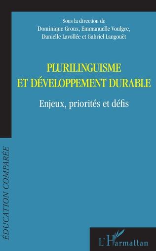 Couverture Plurilinguisme et développement durable