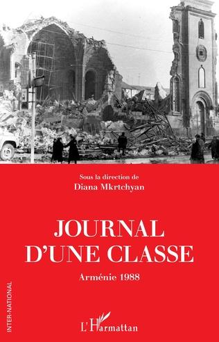 Couverture Journal d'une classe