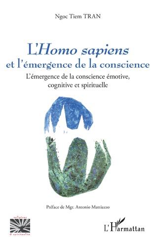 Couverture L<em>'Homo sapiens</em> et l'émergence de la conscience
