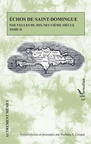 Couverture Echos de Saint-Domingue Tome II