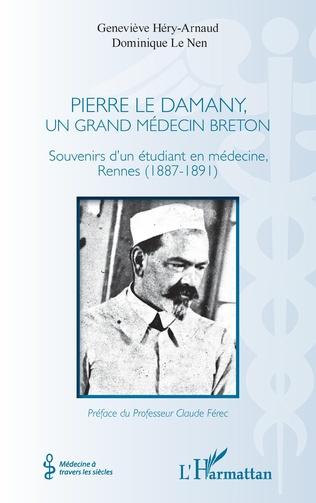 Couverture Pierre Le Damany, un grand médecin breton