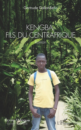 Couverture Kengba, fils du Centrafrique