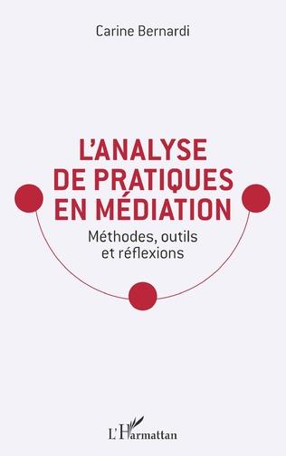Couverture L'analyse de pratiques en médiation