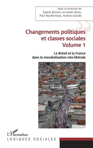 Couverture Changements politiques et classes sociales