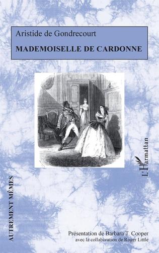 Couverture Mademoiselle de Cardonne
