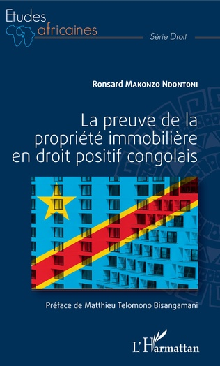 Couverture La preuve de la propriété immobilière en droit positif congolais