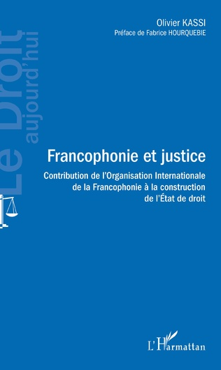 Couverture Francophonie et justice