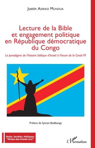 Couverture Lecture de la Bible et engagement politique en République démocratique du Congo