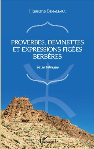 Couverture Proverbes, devinettes et expressions figées berbères