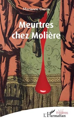 Couverture Meurtres chez Molière