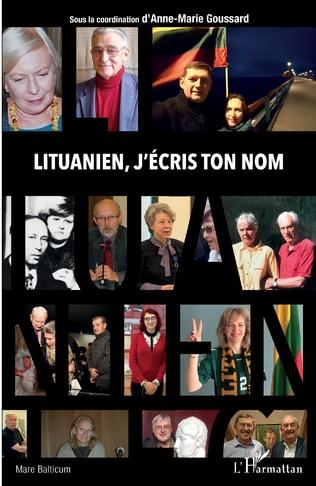 Couverture Lituanien, j'écris ton nom