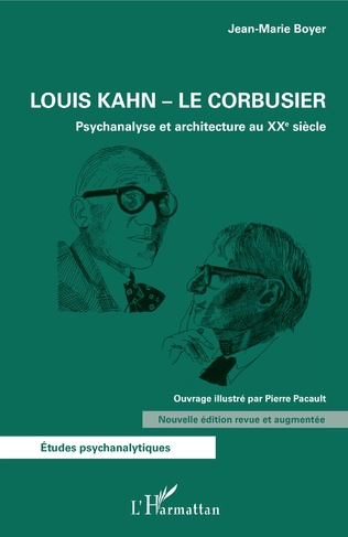 Couverture Louis Kahn - Le Corbusier