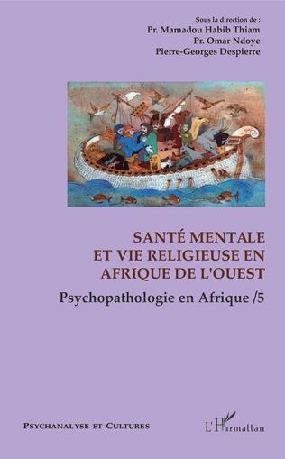 Couverture Santé mentale et vie religieuse en Afrique de l'Ouest