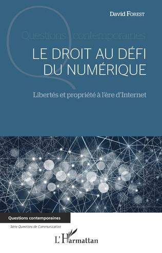 Couverture Le droit au défi du numérique