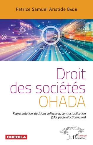Couverture Droit des sociétés OHADA