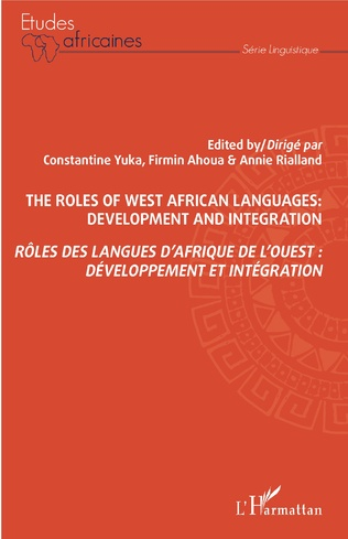 Couverture Rôles des langues d'Afrique de l'Ouest : développement et intégration