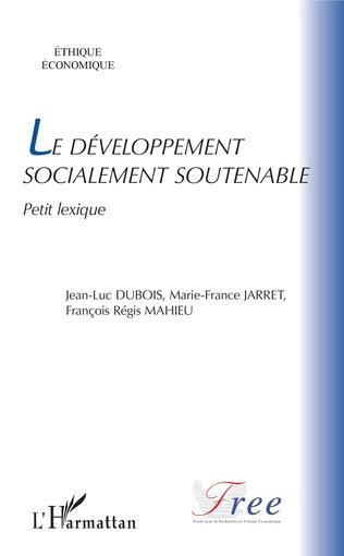 Couverture Le développement socialement soutenable