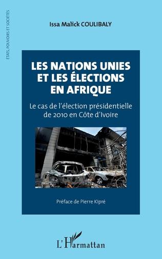 Couverture Les Nations Unies et les élections en Afrique
