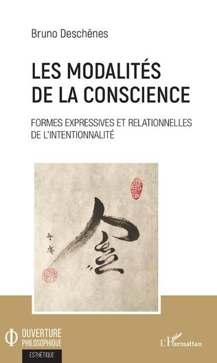 Couverture Les modalités de la conscience