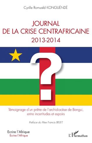Couverture Journal de la crise centrafricaine 2013-2014