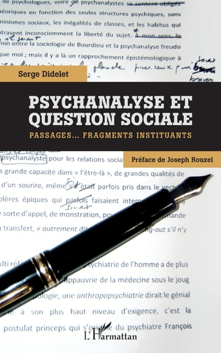 Couverture Psychanalyse et question sociale