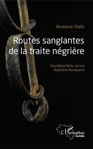 Couverture Routes sanglantes de la traite négrière