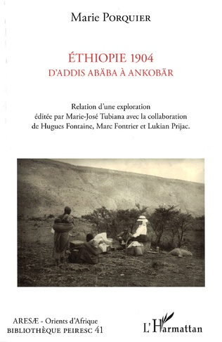 Couverture Ethiopie 1904 D'Addis Abäba à Ankobär