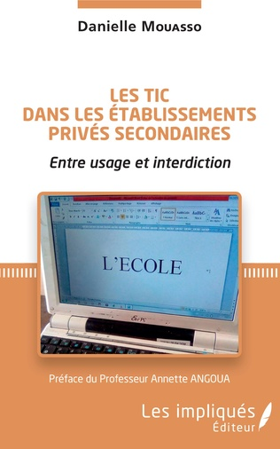 Couverture Les TIC dans les établissements privés secondaires