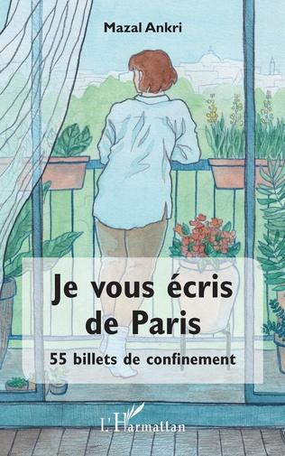 Couverture Je vous écris de Paris
