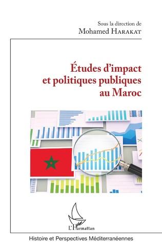 Couverture Études d'impact et politiques publiques au Maroc