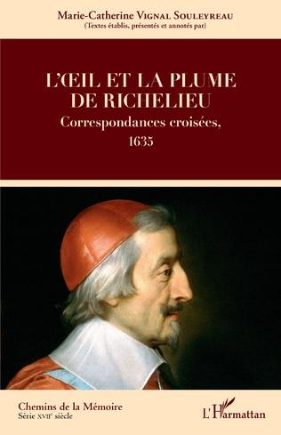 Couverture L'oeil et la plume de Richelieu