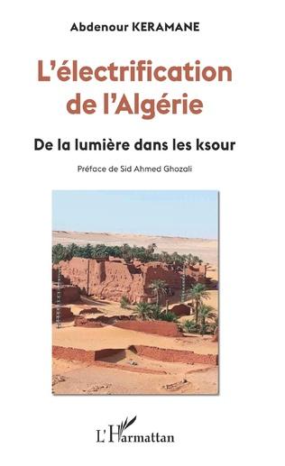 Couverture L'électrification de l'Algérie