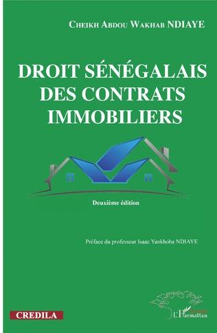 Couverture Droit sénégalais des contrats immobiliers