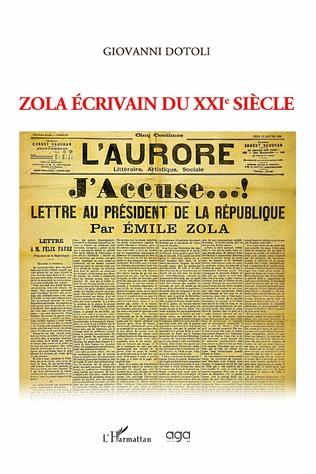 Couverture Zola écrivain du XXIe siècle