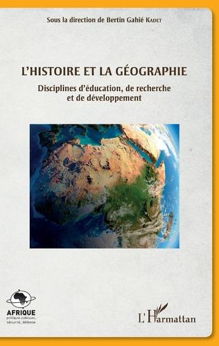 Couverture L'histoire et la géographie