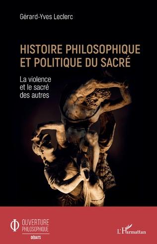 Couverture Histoire philosophique et politique du sacré