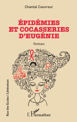 Couverture Épidémies et cocasseries d'Eugénie
