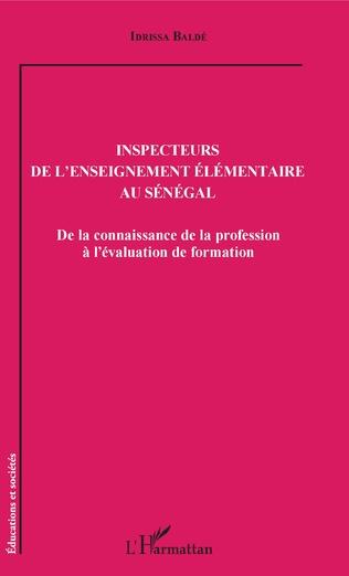 Couverture Inspecteurs de l'enseignement élémentaire au Sénégal
