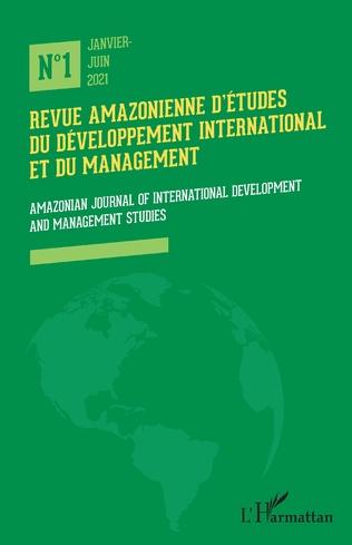 Couverture Revue amazonienne d'études du développement international et du management