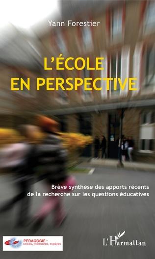 Couverture L'École en perspective